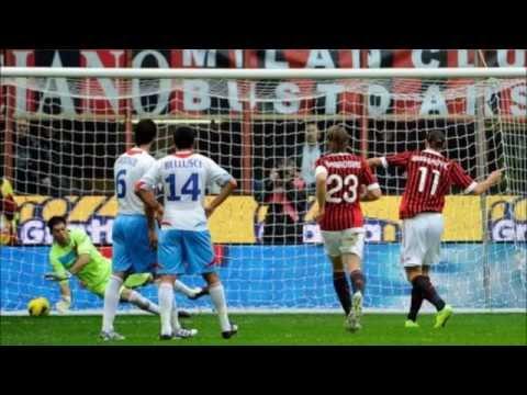 Milan vs Atletico madrid 0-1 Amplio resumen goles - ALL GOALS & HIGHLIGHTS UCL 19.02.2014 HD