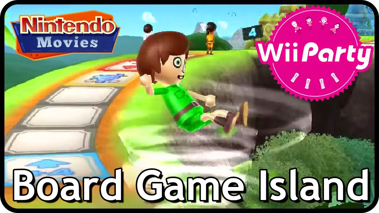 Wii Party - Board Game Island (3 players)
