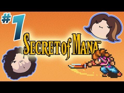 Secret of Mana: Slash Wait Slash - PART 1 - Game Grumps