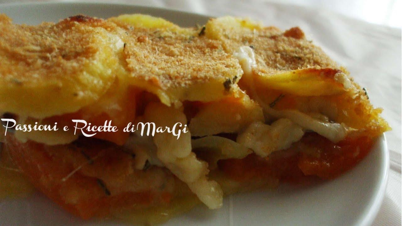 video ricetta zucca e patate al forno