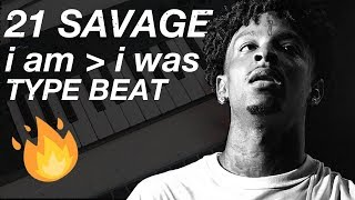 Making a Beat for 21 Savage I Am Greater Than I Was ALBUM!