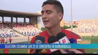 Selección Colombia sub 23 se prepara para Torneo Preolímpico - Telemedellín