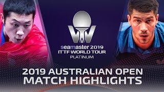 Xu Xin vs Patrick Franziska | 2019 ITTF Australian Open Highlights (1/2)