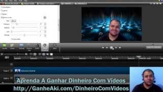 Como Tirar o Fundo do Vídeo no Camtasia 8 ou Superior (chroma key)