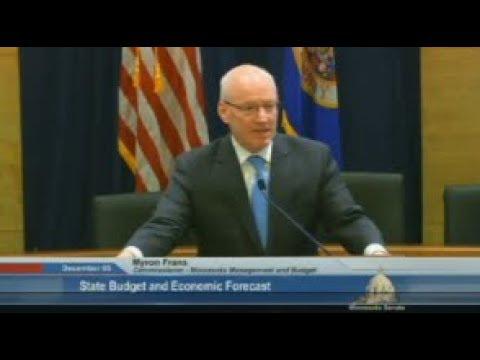 MN Facing Budget Deficit- Full Forecast Presentation