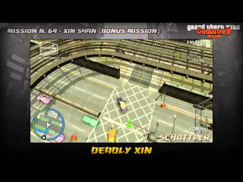 GTA Chinatown Wars - Walkthrough - Mission #64 - Deadly Xin (Bonus Mission)