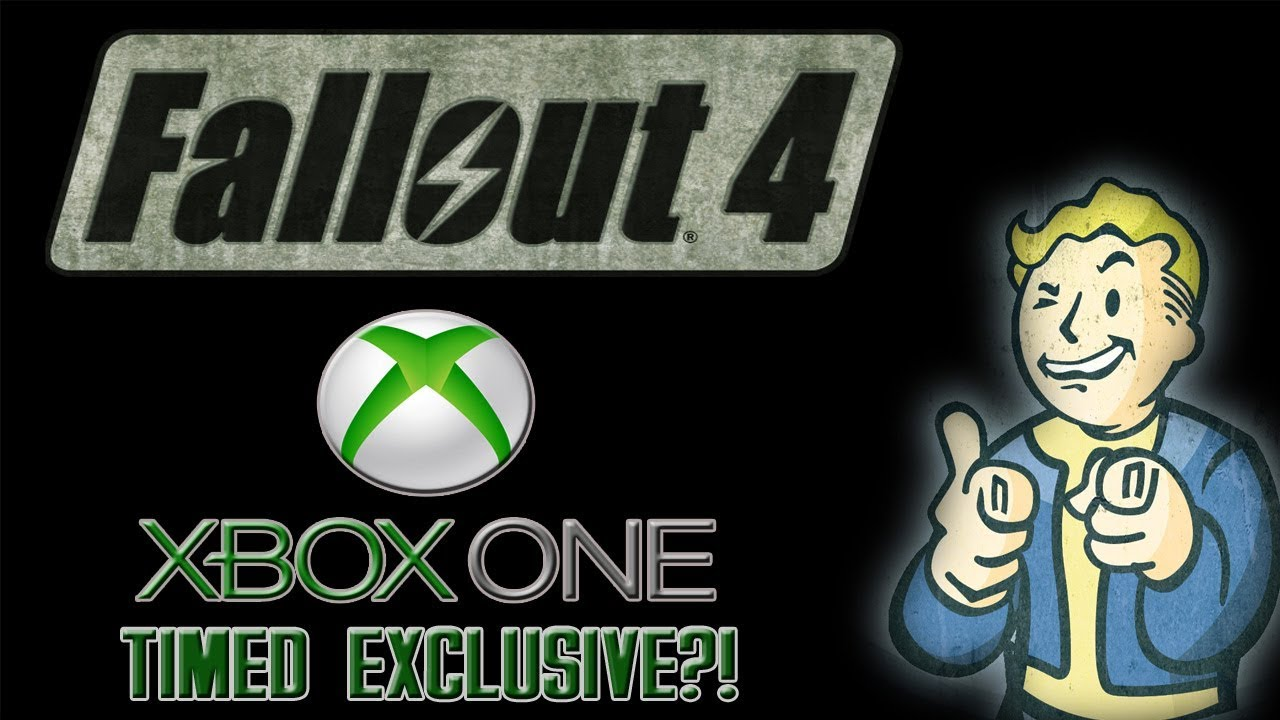 Fallout 4 Xbox One Exclusive