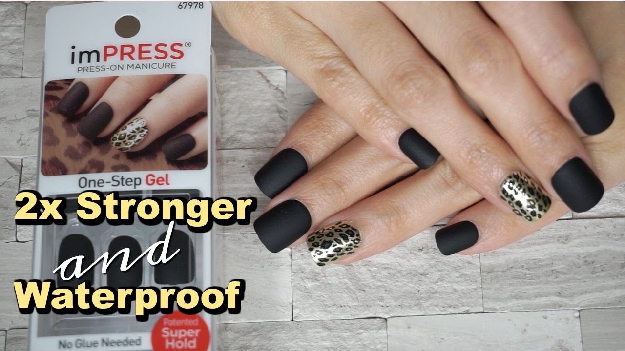 IMPRESS Press-on Manicure from KISS - YouTube