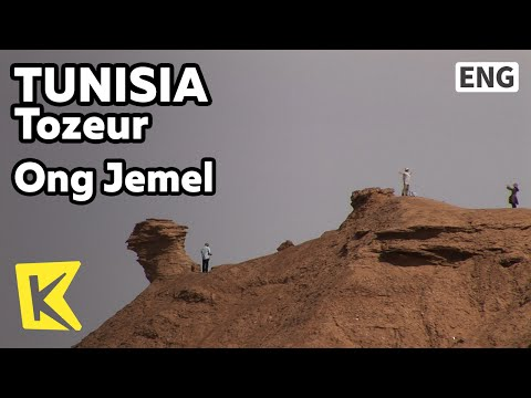 【K】Tunisia Travel-Tozeur[튀니지 여행-토주르]사막 사파리, 옹그쥬멜 언덕/Ong Jemel/Desert Safari/Camel/Film Site/English