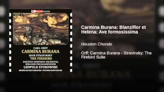 Carmina Burana: Blanziflor et Helena: Ave formosissima