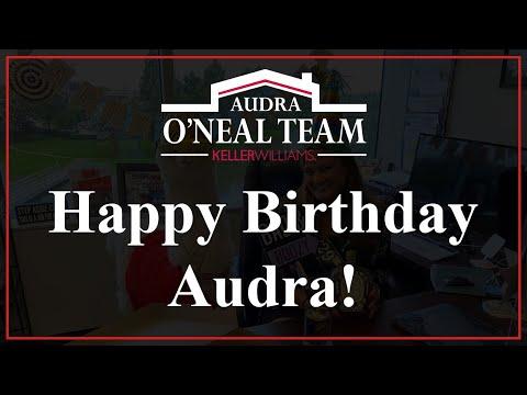 Happy Birthday Audra!!!