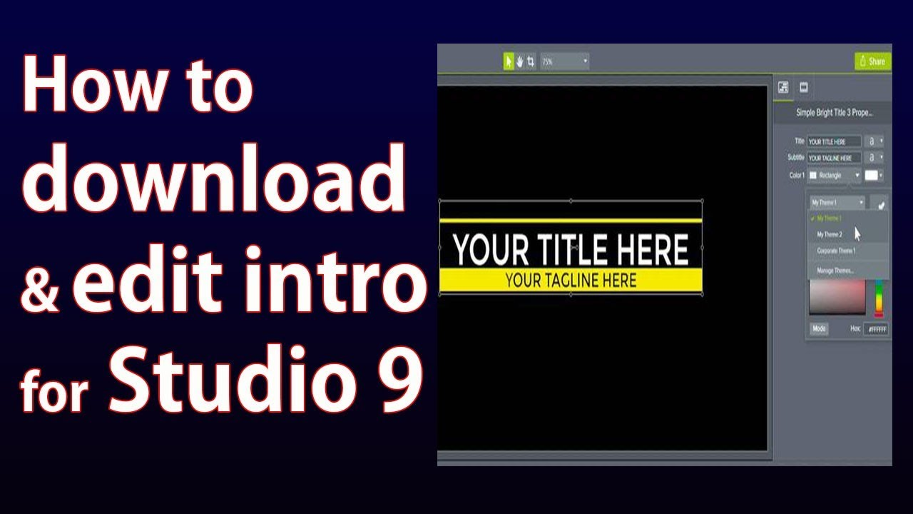 studio 9 software free download