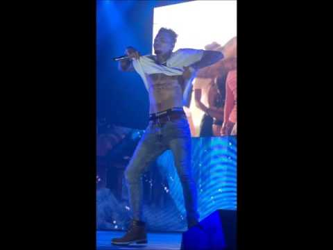 Chris Brown - best dance moments - One hell of a nite tour 2016 (Sweden & Denmark)