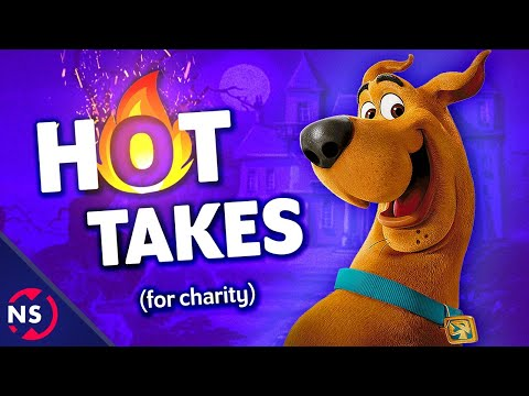 Scooby-Doo HOT TAKES for Charity 🔥