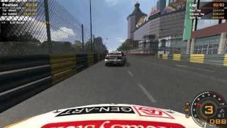 WTCC Game - A Ride In Macau Guia Circuit