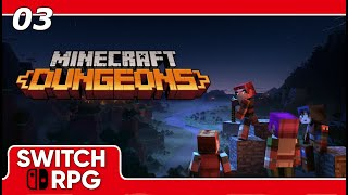 Minecraft Dungeons - Soggy Swamp - Nintendo Switch Gameplay - Episode 3
