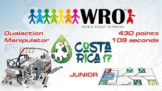wro2017 junior 430 points 109 seconds instructions programs curriculums roboriseit com