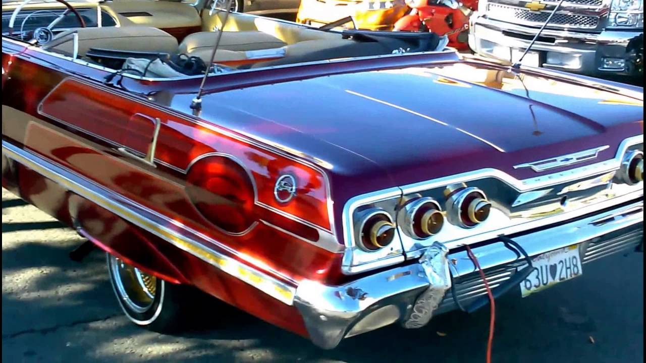 1963 chevy impala lowrider compilation youtube. Black Bedroom Furniture Sets. Home Design Ideas
