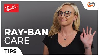 Ray-Ban Sunglass and Eyeglass Care with California Glasses Girl | SportRx