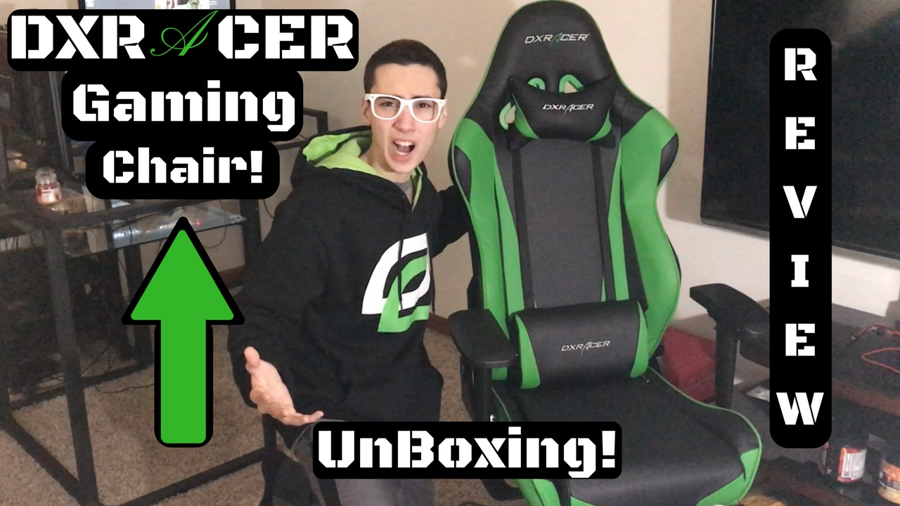 DXRACER CHAIR UNBOXING AND REVIEW! - DXRacer Racing Series