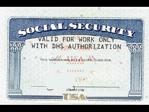 Адаптация в США. Номер социального страхования (SSN)