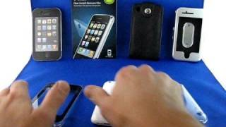 Etui crystal&touchable pour iphone 3G génial