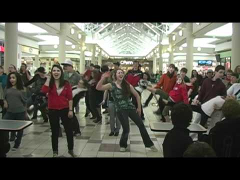 Millie Flash Mob at Eastview Mall.wmv