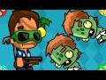 🐾 ЗОМБИ В ДОМЕ в зомбалити. Уничтожение zombies в мультик игре Zombality