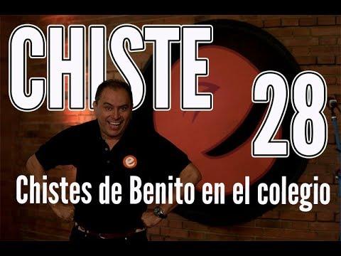 🤪 JOSÉ ORDÓÑEZ | Benito en el colegio  | CHISTES 28  ✅