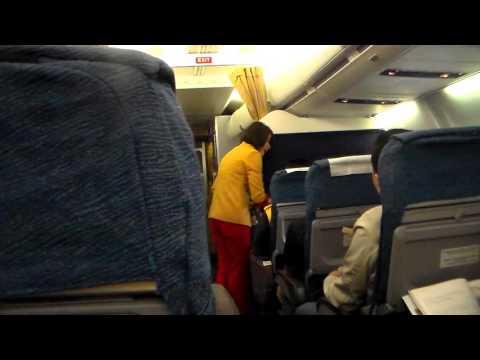 Suasana di Dalam Pesawat NAM Air