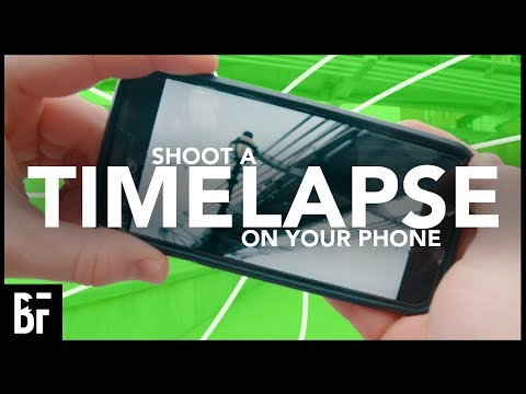 Shoot A Timelapse & Hyperlapse On Your Phone
