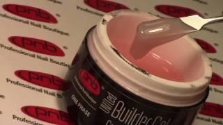 uV/LED Gel Crystal Pink PNB  Низкотемпературный однофазный гель от PNB
