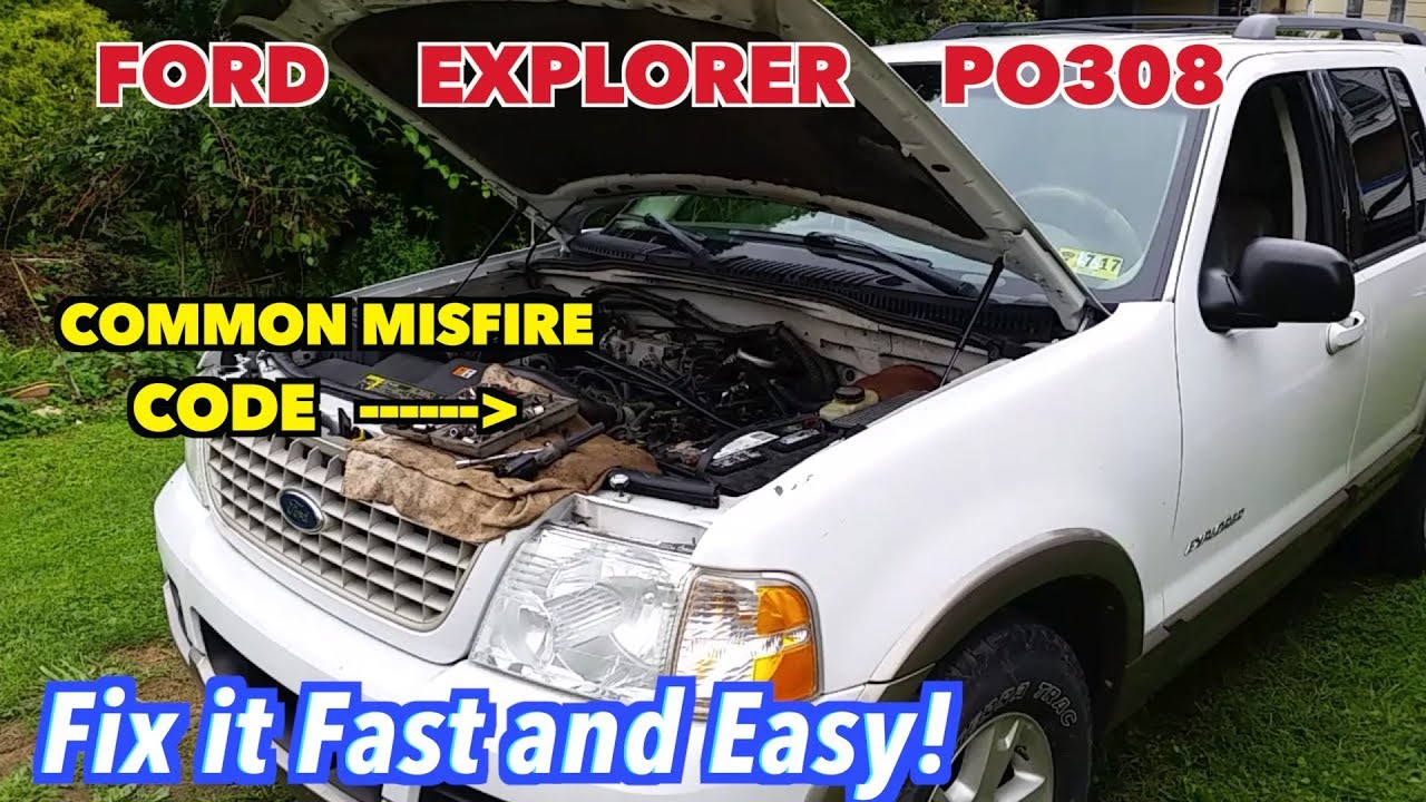 Ford Explorer 4 6 PO308 common Misfire code  Easy Fix *F-A-S-T!*