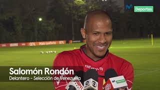 Selección de Venezuela: Salomón Rondón analiza a Perú previo al debut en Copa América