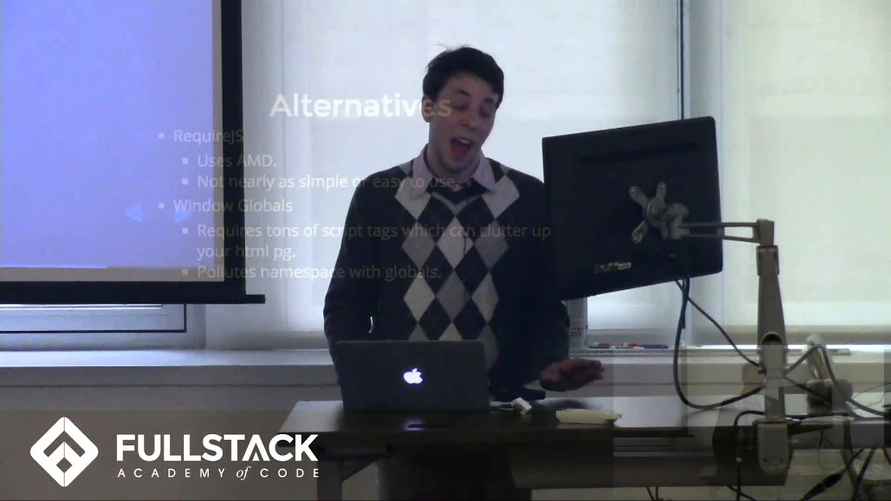 Browserify Tutorial - How to Use Browserify to Modularize Your Code by Fullstack Academy