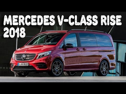 2018 mercedes benz v class rise and v class limited. Black Bedroom Furniture Sets. Home Design Ideas