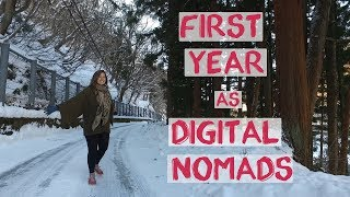 Digital Nomad in Philippines, Thailand, Malaysia and Japan   2017 Recap