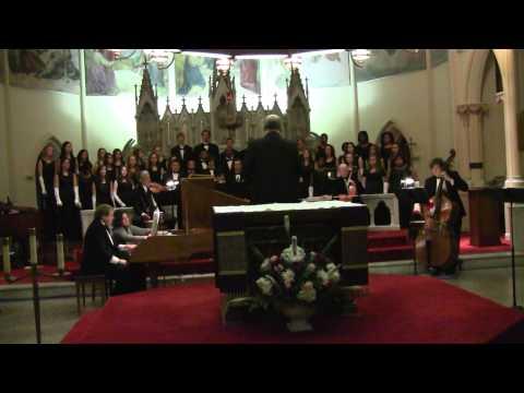 """""""Hallelujah Chorus"""" performed by the Western Branch Varsity Singers"""