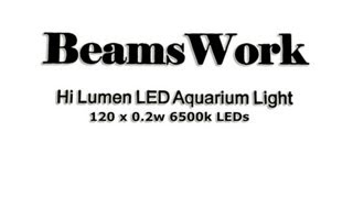Beamswork 120 X 0.2w 6500k Led Light For Planted Tanks