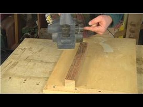YouTube Premium & Home Remodeling Tools : How to Use a Handheld Power Planer - YouTube