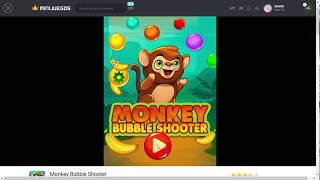 Monkey Bubble Shooter (Nivel 1 al 4)