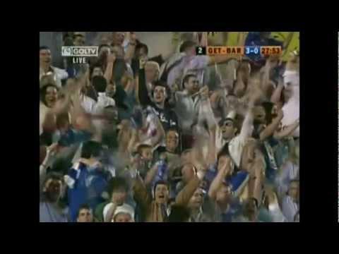 GETAFE 4 - 0 BARCELONA con la narracion de la cadena SER