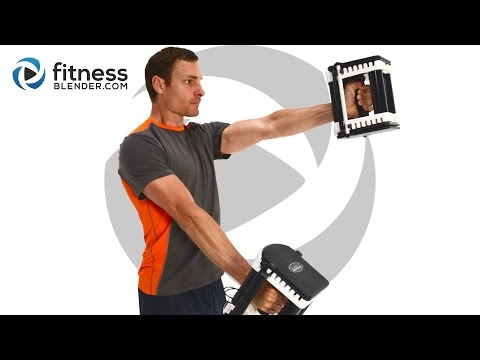 Upper Body Dumbbell Workout - Challenging Upper Body Exercis