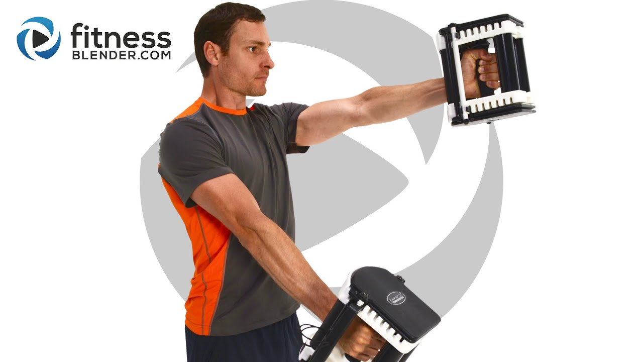 The dumbbell workout for total-body functional muscle pics