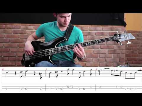 Como tocar el tema de la Pantera Rosa - Tutorial bajo (HD)