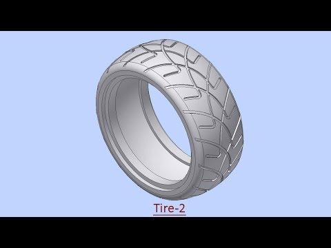 Tire-2 (Video Tutorial) Autodesk Inventor