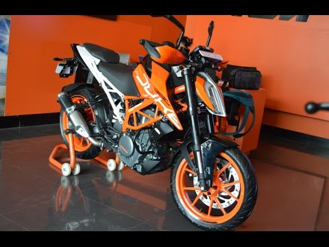 ktm duke 390 2017 walkaround, mileage, review, first look and