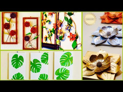 6  Super Unique Room Decor Ideas| gadac diy| craft ideas for home decor|  wall decoration idea