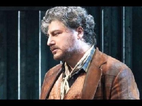 "JOSE CURA, "" La Fanciulla del West"" -- Wiener Staatsoper, 2016"