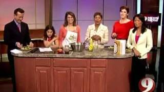 California Taco Salad With Aviva Goldfarb Of The Six O'clock Scramble Wusa May 2008